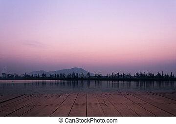 jezero, názor