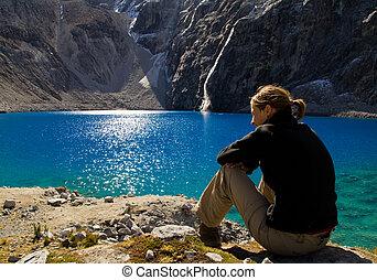 jezioro, odpoczynek