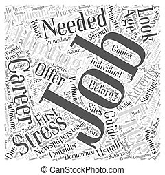 JH job hunting guide Word Cloud Concept