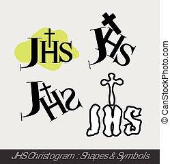 JHS Christogram Symbols