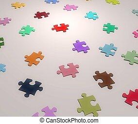 Jigsaw Colors