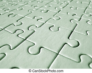 jigsaw, groene