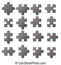 jigsaw, icone