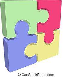 jigsaw Illustration