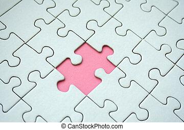 Jigsaw pattern