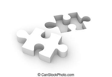jigsaw, pedaço