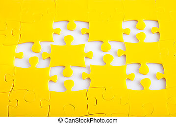 Jigsaw puzzle missing