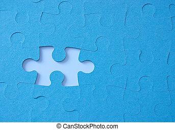 jigsaw puzzle - missing piece of jigsaw puzzlw