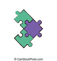 jigsaw puzzle pieces image