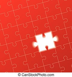 jigsaw puzzle, solution concept