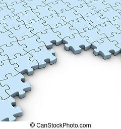 jigsaw puzzles background