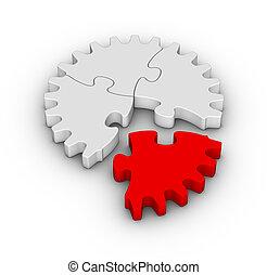 jigsaw puzzles gear
