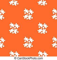 Jigsaw puzzles pattern seamless