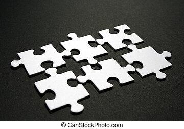 jigsaws, (conceptual)