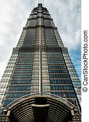 Jin Mao Tower pudong shanghai china - Jin Mao Tower...