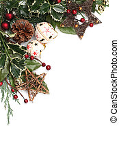 Jingle bell Christmas frame - Christmas border with jingle ...