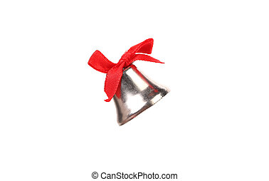 Jingle Bell. Isolated on a white background.