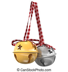 Jingle bells. 3d illustration
