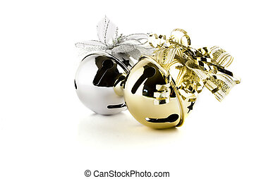 Jingle bells isolated on white