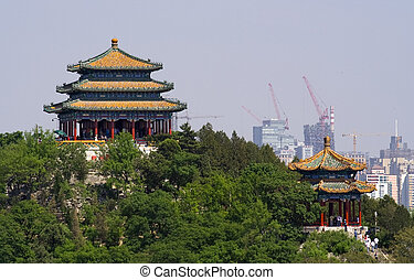 Jingshan Park Pavilions Beijing, China - Picture of Jingshan...