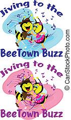 Jiving Bees