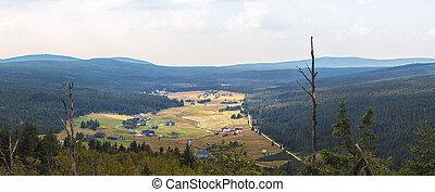 jizera, korenov, hory, jizerka, čech republika