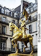 Joan of Arc , Paris, France
