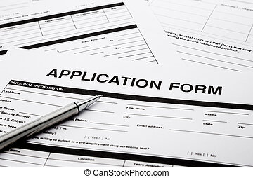 job application form - employment application form, human ...