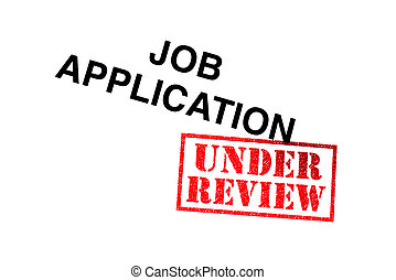 Application under review Stock Illustrations  311 Application under