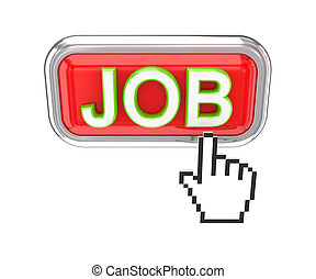 JOB button and white cursor.