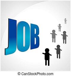 Job concept