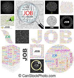 Job. Concept illustration.