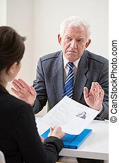 Job conversation