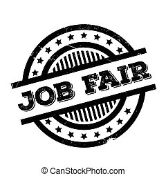 Job Fair rubber stamp