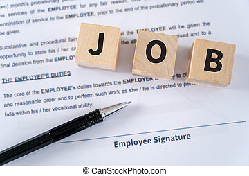 Job Human Resources Recruitment Job search concept