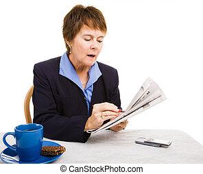 Job Hunting - Circling Classifieds