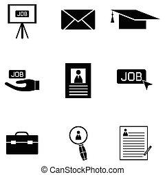 job icon set