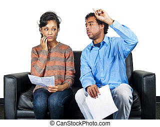 Job Interview - actors in an audition or job interview
