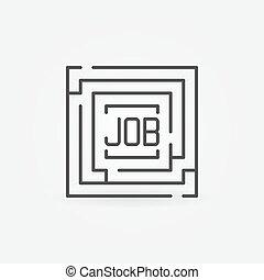 Job maze icon