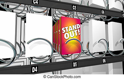 Job Offer Interview Candidate Career Vending Machine 3d Illustration