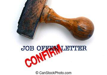 Job offer letter