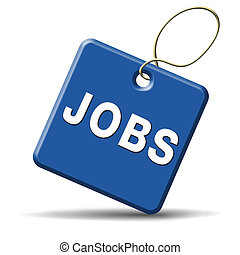 job opening icon - jobs ahead opportunity and warning for a...