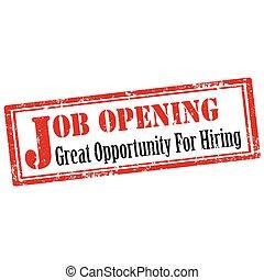 Job Opening-stamp