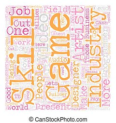 Job Opportunities text background wordcloud concept