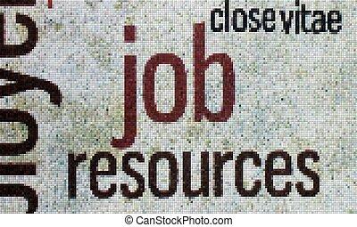Job pixel concept