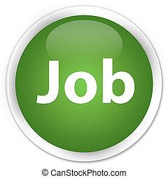 Job premium soft green round button