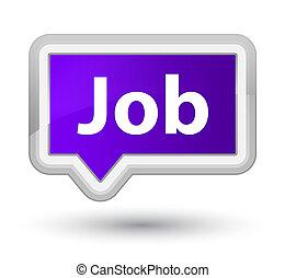 Job prime purple banner button