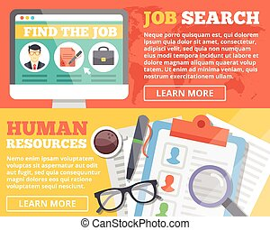 Job search and human resources