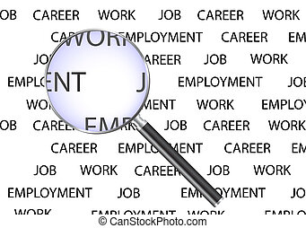 Job search design. Available in jpeg and eps8 formats.