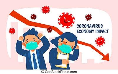 Job seekers affected by coronavirus, upset people and ...